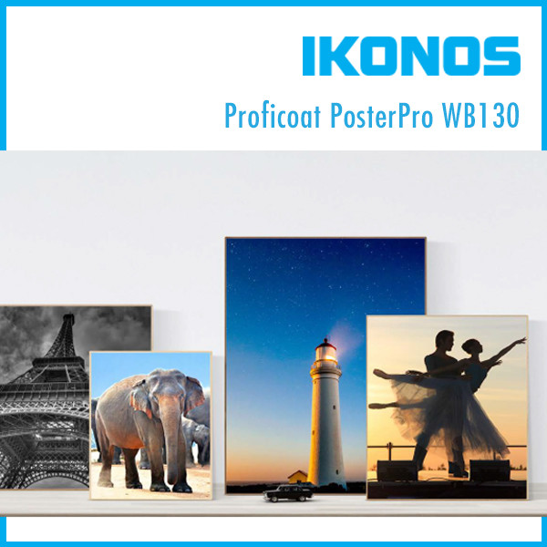 Бумага IKONOS Proficoat PosterPro WB130  1,60х75м
