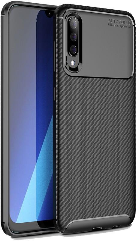 Чехол-накладка TOTO TPU Carbon Fiber 1,5mm Case Samsung Galaxy A30s/A50/A50s Black #I/S