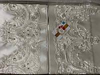 Покрывало с наволочками kubra class полиэстер yagmur 240*250 см+ 50*70 (2) белый #S/H
