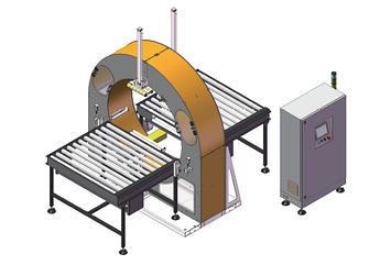 Автоматический станок упаковки в стрейч-пленку
