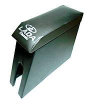 Підлокітник ВАЗ 2101, ВАЗ 2106 (з логотипом, чорний)