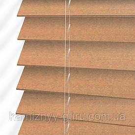 Жалюзи деревянные горизонтальные 50 мм золотой дуб мат Sundeco