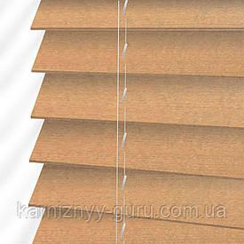 Жалюзи деревянные горизонтальные 50 мм кленовый Sundeco
