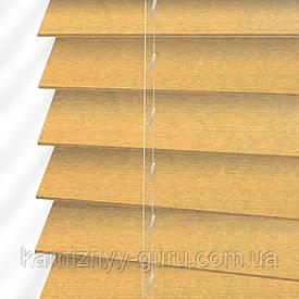 Жалюзи деревянные горизонтальные 50 мм натуральный Sundeco