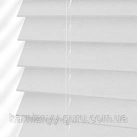 Жалюзи деревянные горизонтальные 50 мм белый Sundeco