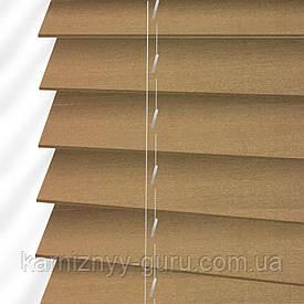 Жалюзи деревянные горизонтальные 50 мм дымный серый Sundeco