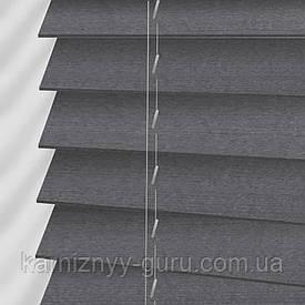 Жалюзи деревянные горизонтальные 50 мм светло-синий Sundeco