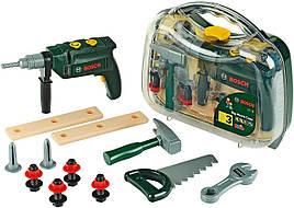 Детский набор инструментов Bosch Klein с дрелью в кейсе 8416