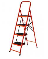 Стремянка металлическая 4 ступ,1.32 м, Forte LFD131TB (88293)