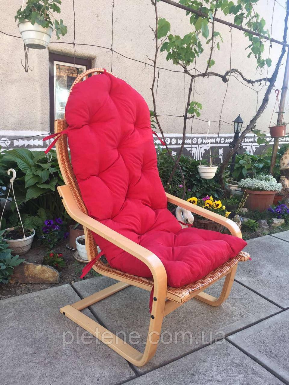 Крісло з лози розбірні