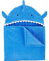 """Детское полотенце с капюшоном """"Акула"""""""
