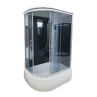 Душевой бокс AKL 120P (GR) R 120х80х220 с электроникой