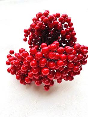 Декоративная красная ягода ( глянец), фото 2