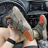Мужские кроссовки Adidas Prophere Green Orange, мужские кроссовки адидас профер, фото 3