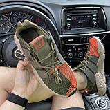 Мужские кроссовки Adidas Prophere Green Orange, мужские кроссовки адидас профер, фото 2