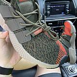 Мужские кроссовки Adidas Prophere Green Orange, мужские кроссовки адидас профер, фото 4