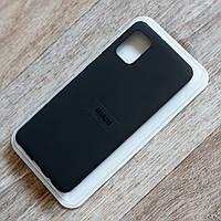 Силиконовый чехол Molan Cano для Samsung Galaxy A31 (sm-a315), черный