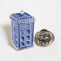 Значок Тардис Доктор Кто Doctor Who   DW 20.5