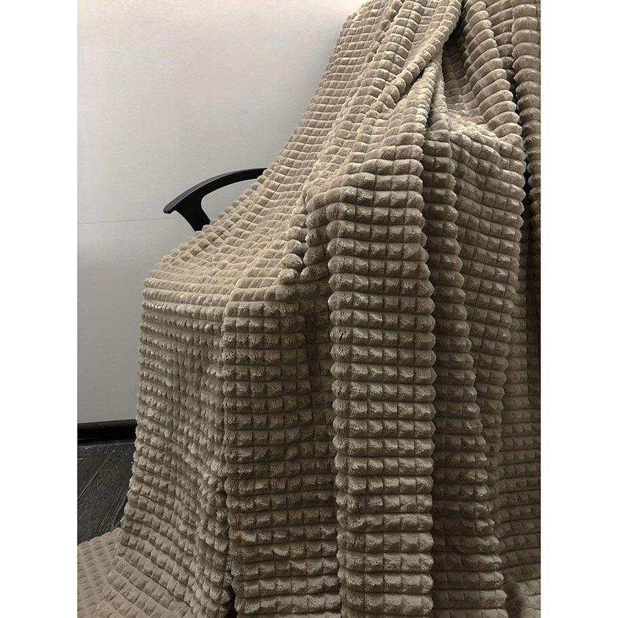 Покрывало-Плед Квадрат покрывало крокодил Мокко бамбуковое покрывало Двуспальное Евро размер 200 х 230 см