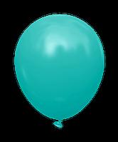 """Латексный шар без рисунка Kalisan Бирюзовый 5"""" 12,5 см"""