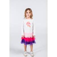 """Платье для девочек. Размер: 98. молочный. TM """"VIDOLI"""" G-20855W. Украина."""