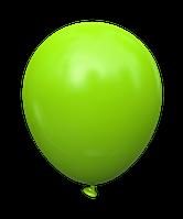"""Латексный шар без рисунка Kalisan Салатовый 5"""" 12,5 см"""
