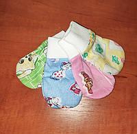 Царапки для новорожденных в роддом Розовые