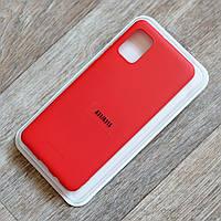 Силиконовый чехол Molan Cano для Samsung Galaxy A31 (sm-a315), красный