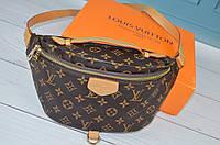 Модная сумка на пояс бананка в стиле Louis Vuitton Луи Витон ЛВ