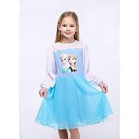 """Платье для девочек. Размер: 98. голубой. TM """"VIDOLI"""" G-19842W. Украина."""