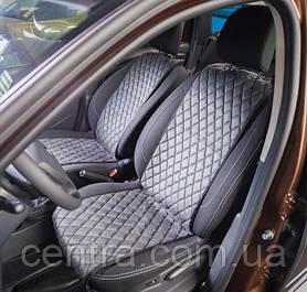Накидки на сидения Opel Karl 2015- Алькантара