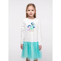 """Платье для девочек. Размер: 98. Молочный,Мятный. TM """"VIDOLI"""" G-20846W. Украина."""