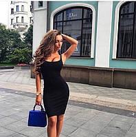 Платье облегающее рр 42-46 цвет в ассортименте