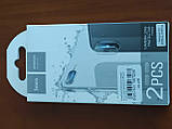 Захисне скло на камеру HOCO 3D Lens flexible iPhone 7 Plus / 8 Plus (прозорий), фото 2