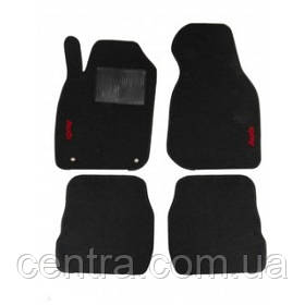 Текстильные коврики в салон на Audi A6 1997-2004 - Черные