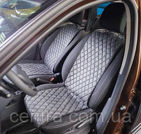 Накидки на сидения BMW 7 (F01) 2008- Алькантара