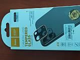 Захисне скло на камеру HOCO 3D Metal for iPhone 11 (срібло), фото 3