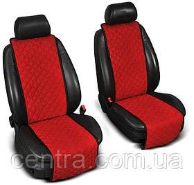 Накидки на сидения INFINITI JX 2012- (QX60) Алькантара