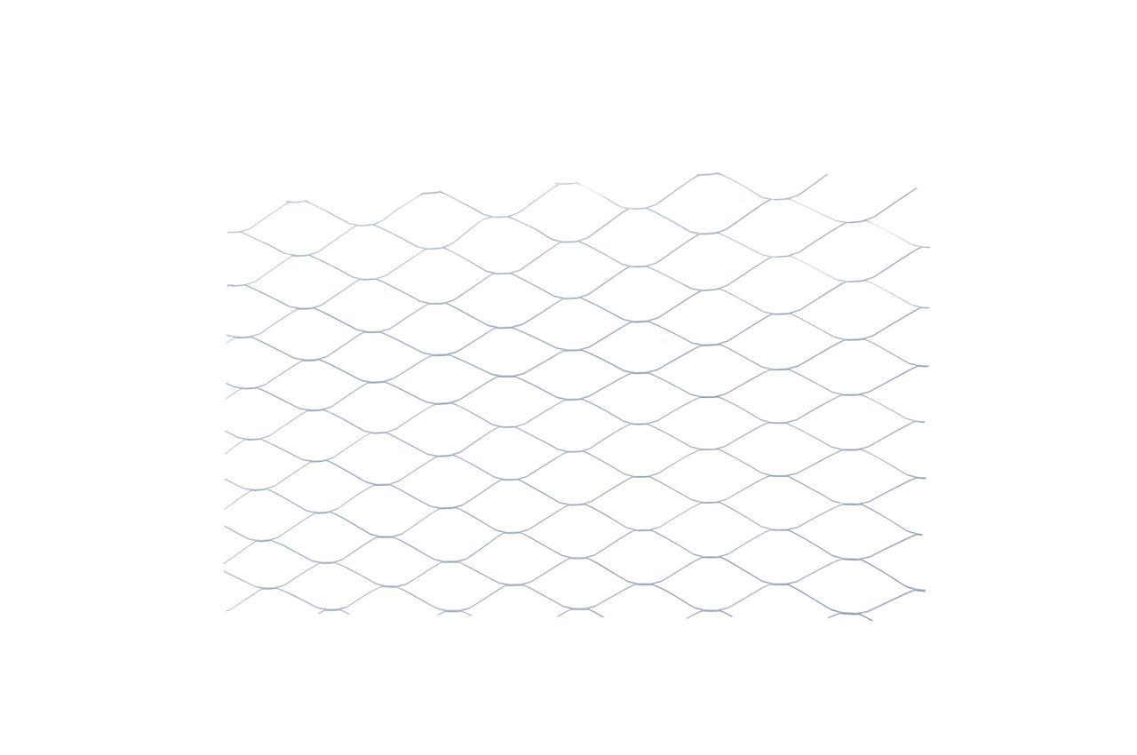 Сетка просечно-вытяжная DV - ячейка 25 х 60 мм, 10 м, оцинкованная
