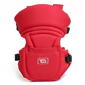 Слинг для новорожденных Bethbear. Эрго рюкзак переноска для детей. Сумка рюкзак кенгуру. Эргорюкзак (красный)