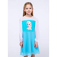 """Платье для девочек. Размер: 98. бирюзовый. TM """"VIDOLI"""" G-19841W. Украина."""