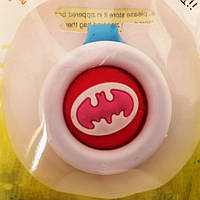 """Клипса от комаров Bikit Guard """"Бетмен""""c натуральными экстрактами с силиконовой кнопкой."""