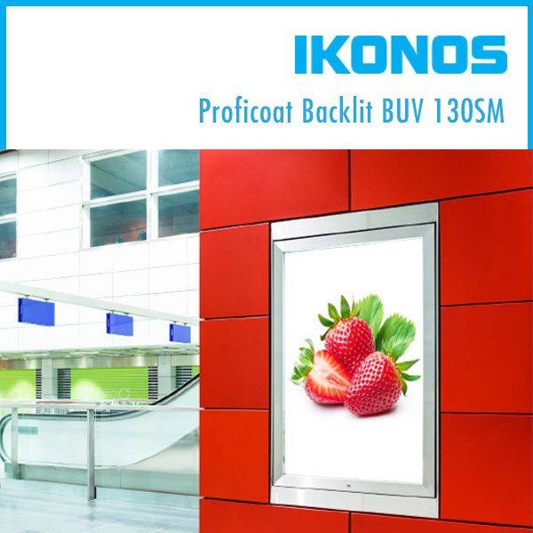 Пленка IKONOS Proficoat Backlit BUV 130SM  1,27х50м