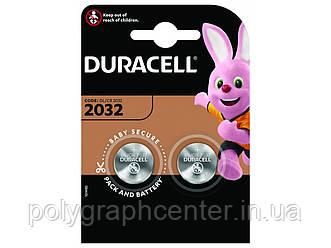 Батарейка CR2032 Duracell DL2032 DSN 2ШТ.