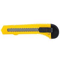 Нож строительный (пластиковый корпус) лезвие 18мм автоматический замок Sigma (8213011), фото 1