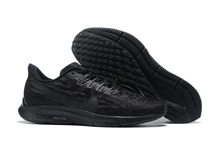 Кроссовки Nike Air Zoom Pegasus 36 Triple Black Men's Running Shoes AQ2210-002 черные мужские