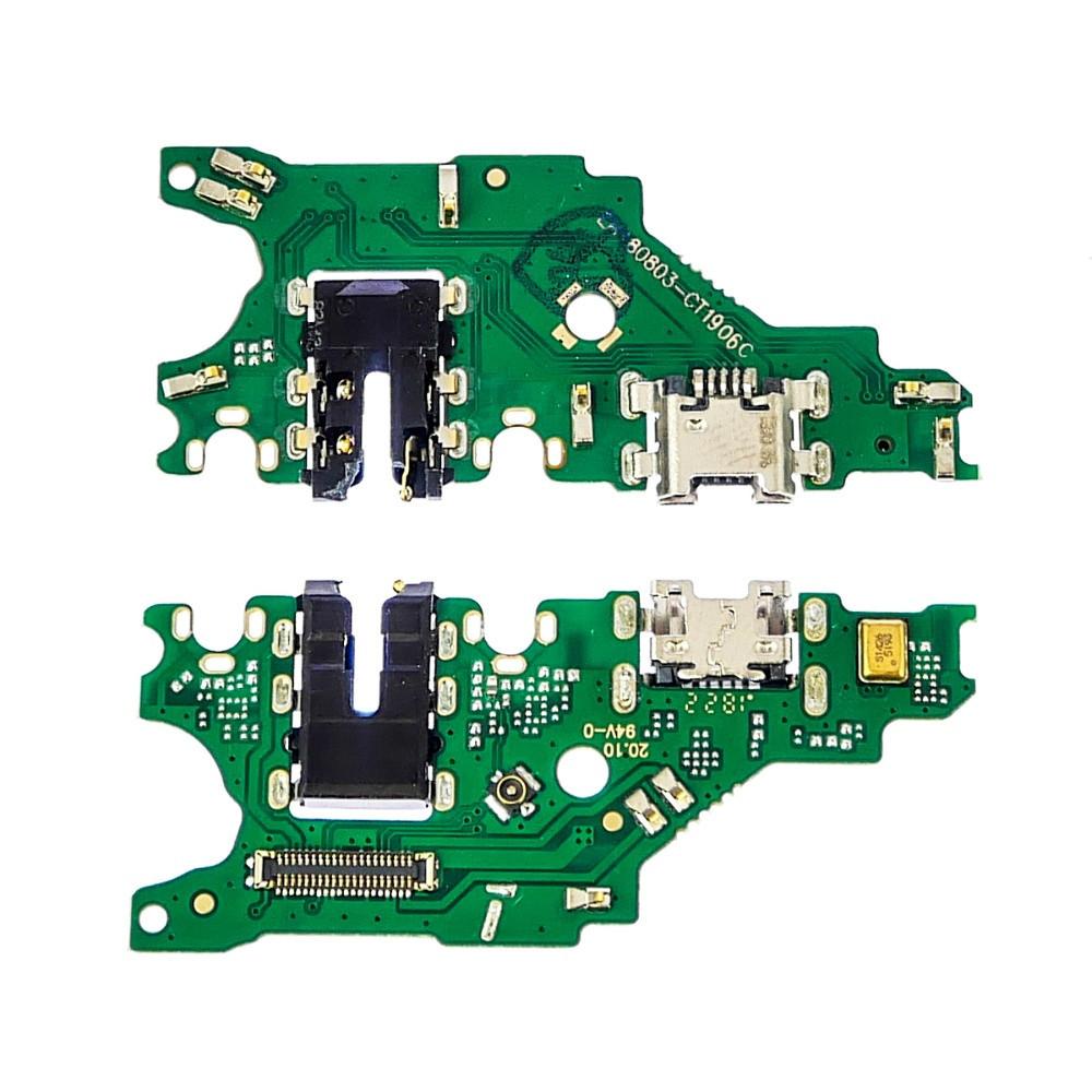 Плата зарядки для Huawei P Smart Plus (2018) | Nova 3i | INE-LX1 c разъёмом зарядки и компонентами