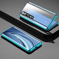 Чехол Fashion Magnetic Flip 360 для Xiaomi Mi 10 Blue