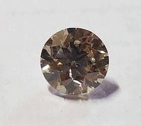 Діамант природний 0.52 Carat Fancy Brown VVS2 4.99 mm