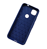 IPaky Google Pixel 4A Carbon Series Blue Чохол Накладка Бампер, фото 2